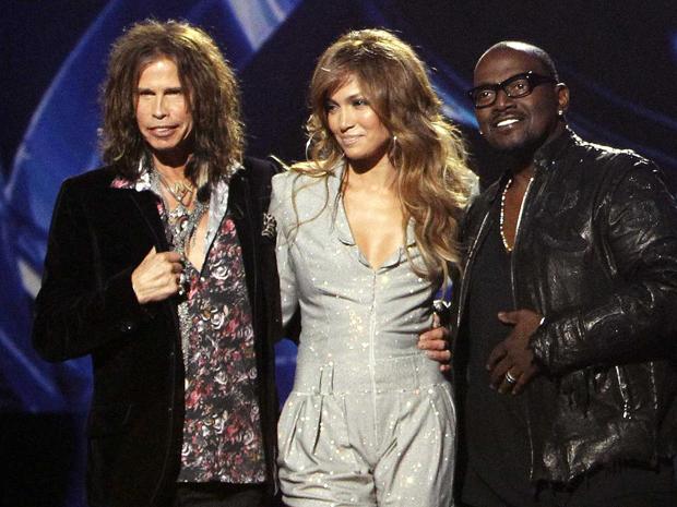Steven Tyler, Jennifer Lopez e Randy Jackson: o trio de jurados que revitalizou o 'American idol'.   (Foto: Reuters)