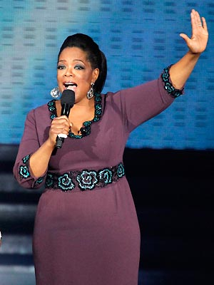 A apresentadora americana Oprah Winfrey (Foto: AP)