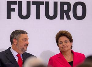 Dilma, Palocci (Foto: Dorivan Marinho/AE)