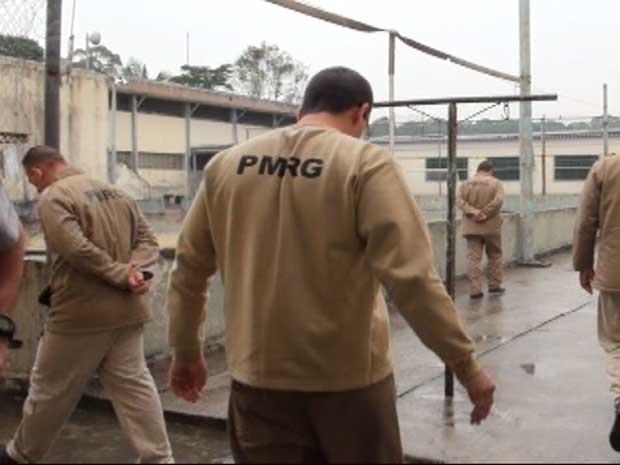 presídio militar romão gomes PM (Foto: Reprodução/G1)