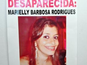 Jovem desaparecida em Campo Grande - Mato Grosso do Sul (Foto: Fernando da Mata/G1 MS)