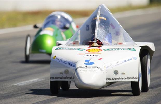 competição shell combustível carros Philipp-Matthaeus-Hahn-Schule (Germany)  (Foto: John MacDougall/AFP)