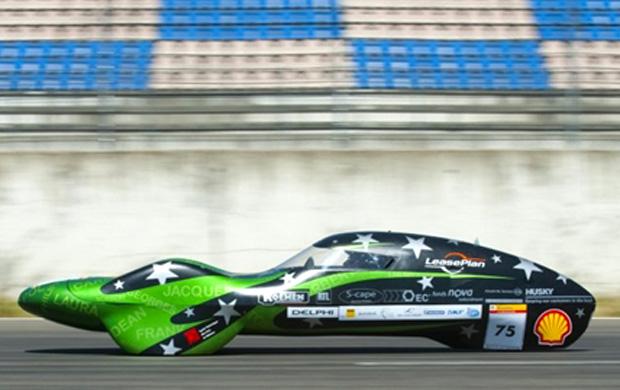 competição shell combustível carros (Foto: John MacDougall/AFP)