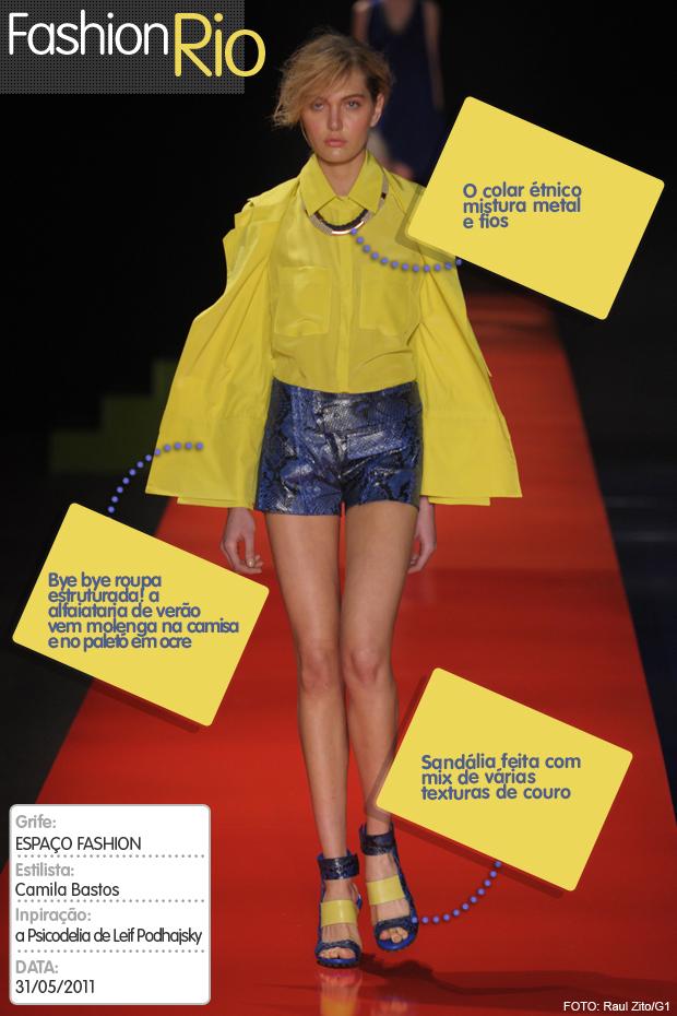 Top Espaço Fashion (Foto: Raul Zito/G1)