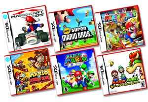 Nintendo relançou seis jogos do DS nos EUA (Foto: Divulgação)