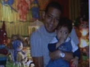 Márcio Anderson está inconformado com a morte do filho de 3 anos (Foto: Reprodução/ TV Globo)