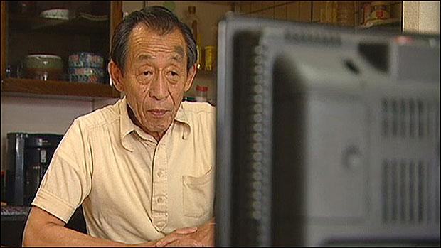 Yasuteru Yamada, de 72 anos, um dos membros da 'Unidade dos Veteranos Hábeis' (Foto: BBC)