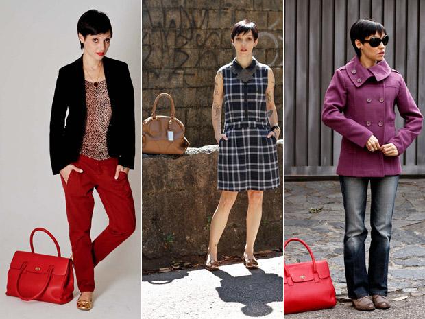 Cris posa com looks para seu blog (Foto: Fred D'Alcântara)