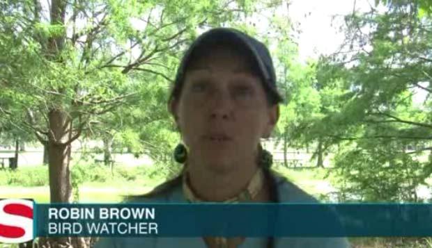 Robin Brow, foi presa em 2009 depois que a polícia confundiu sálvia com maconha. (Foto: Reprodução)
