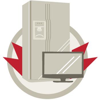 guia do crédito - móveis e eletrodomésticos (Foto: Editoria de Arte/G1)