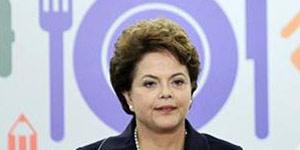 A presidente Dilma Rousseff no lançamento do programa Brasil sem Miséria em Brasília (Foto: Ueslei Marcelino / Reuters)