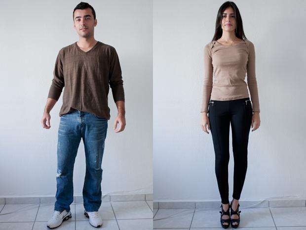Rafael e Karen sexta-feira (Foto: Daigo Oliva/G1)