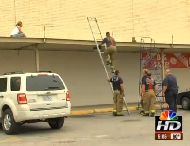 Resgate ocorreu em Kansas City, no estado do Kansas. (Foto: Reprodução)