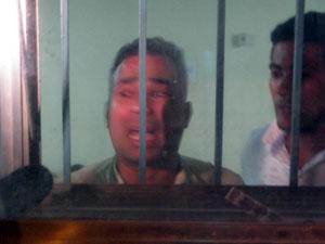 Sargento Monteiro é um dos bombeiros presos após invasão de quartel central no Rio  (Foto: Aluizio Freire/G1)