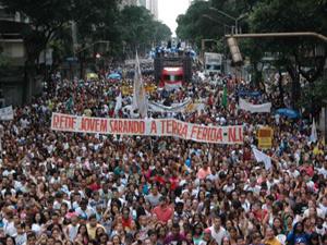 marcha2 (Foto: Luiz Gomes / Parceiro / Agência O Globo)