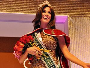Alessandra Baldini é a nova Miss DF. (Foto: Romulo R. Gomes / Divulgação)