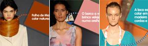 G1 desvenda os cinco melhores looks do último dia de Fashion Rio (Arte G1)