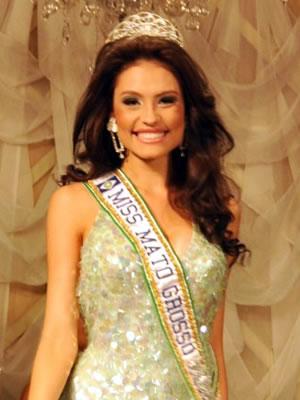 Jéssica Duarte é a nova Miss Mato Grosso. (Foto: Valter Arantes / Divulgação)