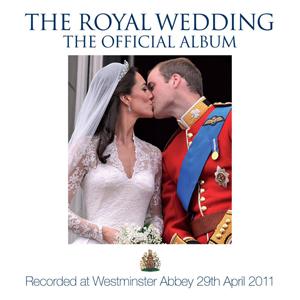Capa do CD oficial com músicas do casamento real (Foto: Divulgação)