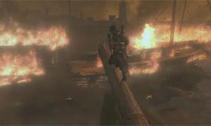 Ezio explode navios em novo 'Assassin's Creed' (Foto: Reprodução)