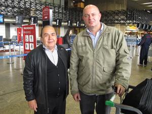 augusto e rodney (Foto: Paulo Toledo Piza/G1)