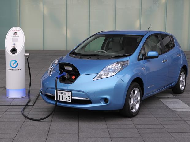 Nissan Leaf ajuda a reforçar a imagem da marca no Brasil (Foto: Divulgação)