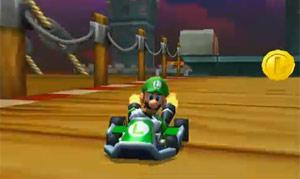 'Mario Kart 3DS' foi apresentado pela Nintendo na E3 (Foto: Reprodução)