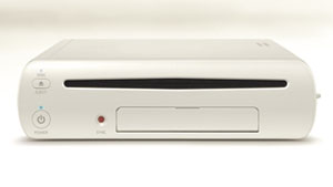 O novo console da Nintendo, o Wii U, que parece um Wii mais redondinho (Foto: Divulgao)