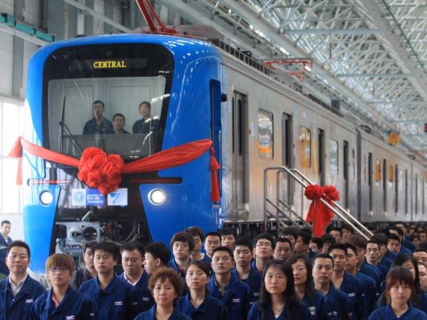 Com telas de LCD, novos trens do Rio chegam no próximo mês
