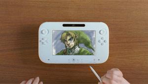 Controle novo do Wii, o Wii u, que imita um tablet (Foto: Reprodução)