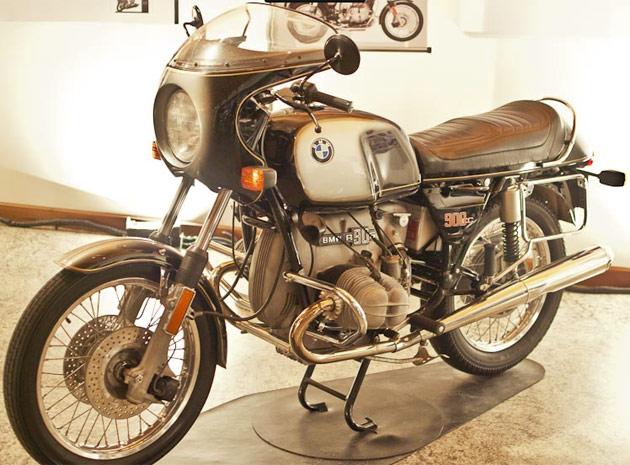 bmw motos museu (Foto: Vinícius Sgarbe/G1)