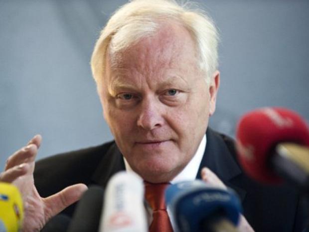 Reinhard Burger, diretor do Instituto Robert Koch, responsável pelas pesquisas sobre a 'E.coli' (Foto: John MacDougall / AFP)