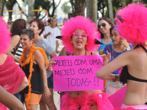 Marcha das vadias Recife (Foto: Bernardo Soares/AE)