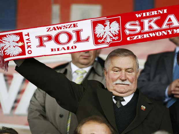 O ex-presidente polon&#234;s e Pr&#234;mio Nobel da Paz Lech Walesa, em foto de arquivo (Foto: Reuters)