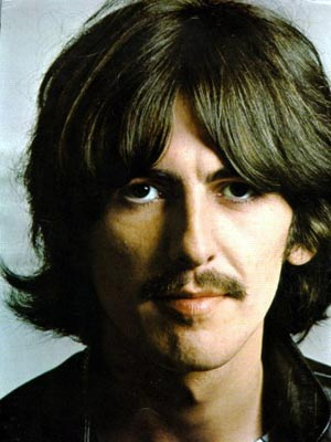 George Harrison na famosa foto encartada no 'White album' (Foto: Photo12)