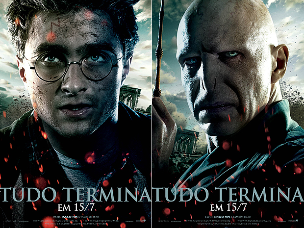Novo pôster de 'Harry Potter e as relíquias da morte, parte 2' (Foto: Divulgação)