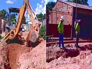 Obras do PAC em Cuiabá e Várzea Grande (Foto: Reprodução/TVCA)