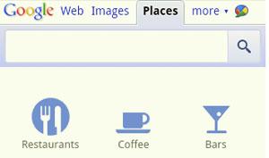 Google adiciona ícones para facilitar buscas em smartphones (Foto: Divulgação)