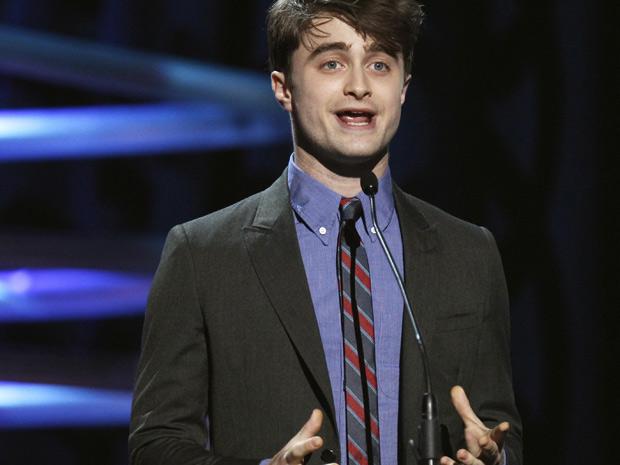 O ator Daniel Radcliffe foi um dos apresentadores da festa de premiação do Oscar da internet (Foto: Lucas Jackson/Reuters)
