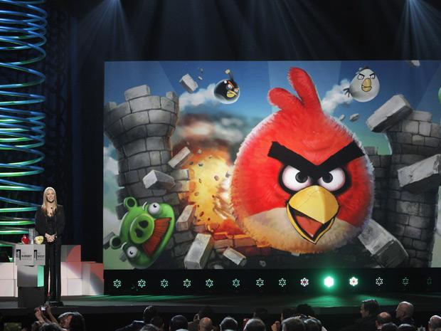 A atriz Lisa Kudrow anunciou Angry Birds como o melhor game para celular (Foto: Lucas Jackson/Reuters)