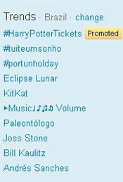 Trending Topics no Brasil às 11h41 (Foto: Reprodução)