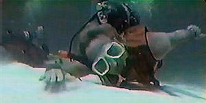 O mergulhador Bill Warren (Foto: Reprodução do YouTube)