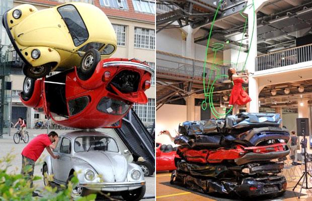 exposição carros (Foto: Uli Deck/AFP)
