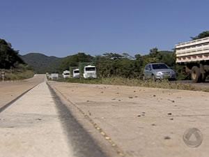 Serra de São Vicente interditada parcialmente (Foto: Reprodução/TVCA)