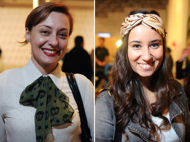 gravata e turbante (Foto: Raul Zito/G1)