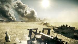 'Battlefield 3' traz gráficos que prometem mostrar confrontos próximos do real (Foto: Divulgação)