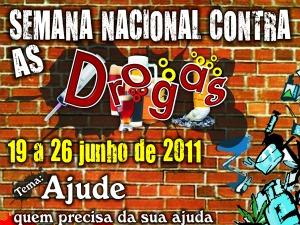 Cartaz da Pastoral da Sobriedade que abre evento com missa neste domingo (Foto: Pastoral daSobriedade/Divulgação)