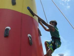 Diversão para crianças e adultos no parque do cócó em Fortaleza (Foto: Sesporte/Divulgação)