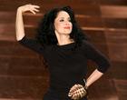 Sonia Braga  tem dia de top  model na SPFW (Daigo Oliva/G1)