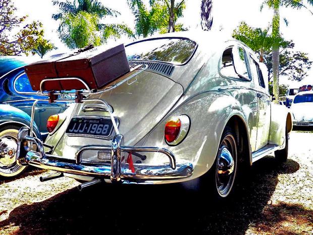 Carros serão expostos em shopping do Cruzeiro às quartas-feiras, a partir das 19h. Fusca foi lançado há 76 anos. (Foto: Marcelo Bressan / Divulgação)